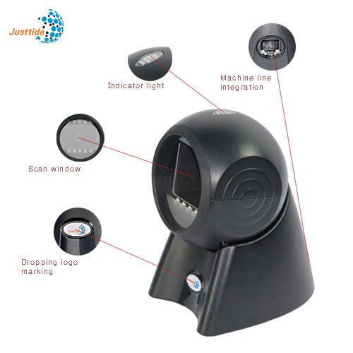 Q90 1D/2D Omni Directional Barcode Scanner Auto